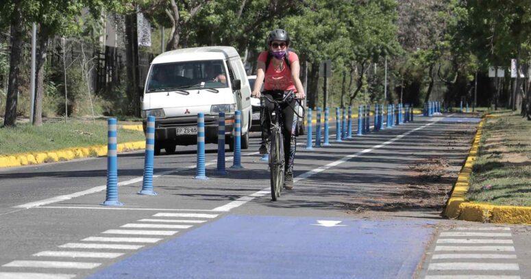 Inauguran primera ciclovía del Plan Nacional en Ñuñoa