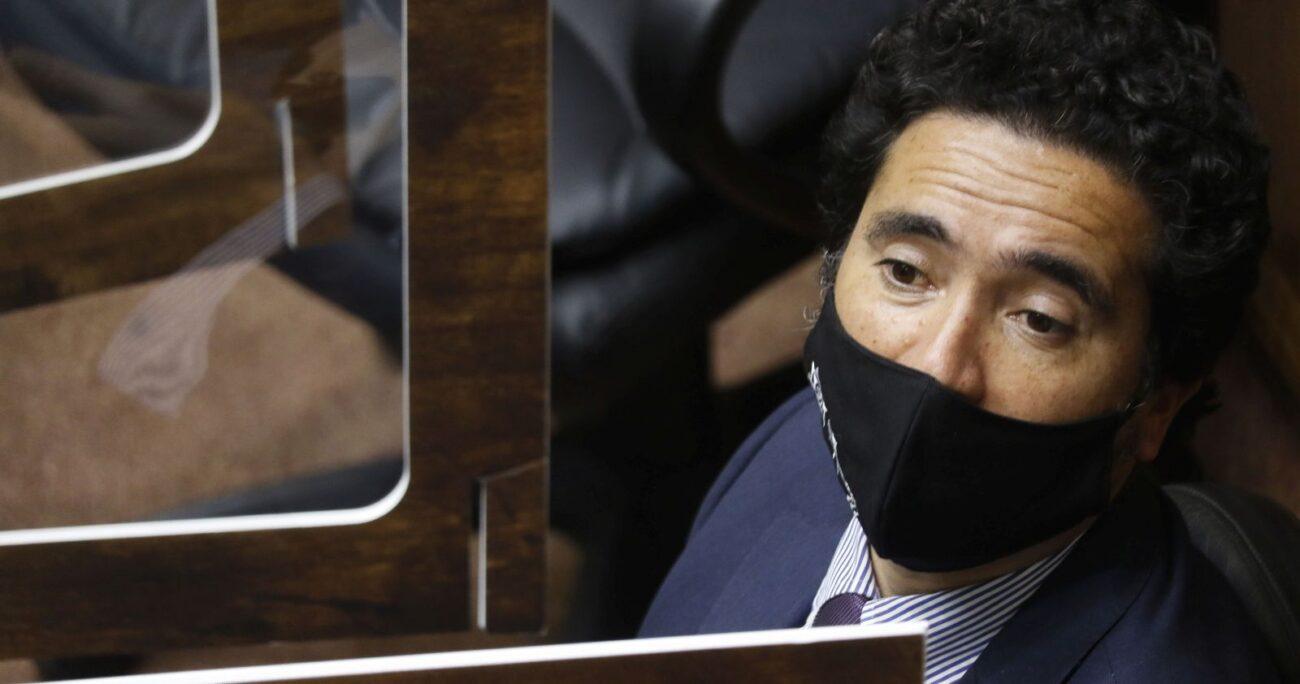 El ministro de Hacienda, Ignacio Briones. (Foto: Agencia Uno)