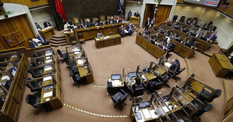 Senado aprueba proyecto de retiro del Gobierno tras fracaso de la propuesta de oposición