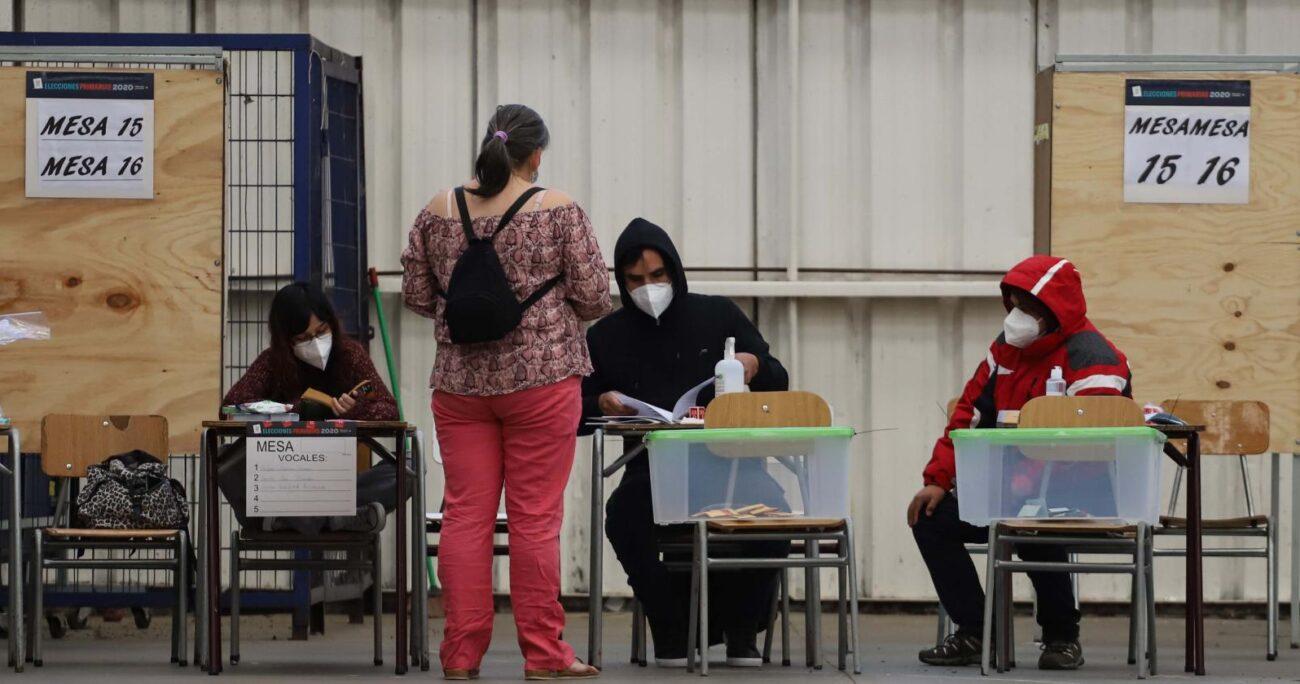Baja participación en mesa de Chillán. Fuente: Agencia Uno.