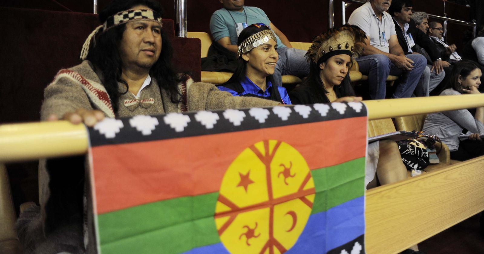 """""""Comunidades mapuches se toman municipio de Lumaco: no quieren escaños reservados"""""""