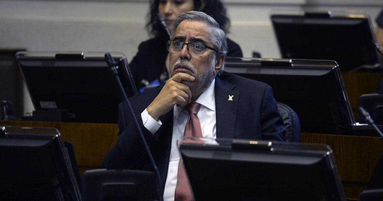 Juan Manuel Zolezzi, vicepresidente ejecutivo del Cruch. (Foto: Agencia Uno)