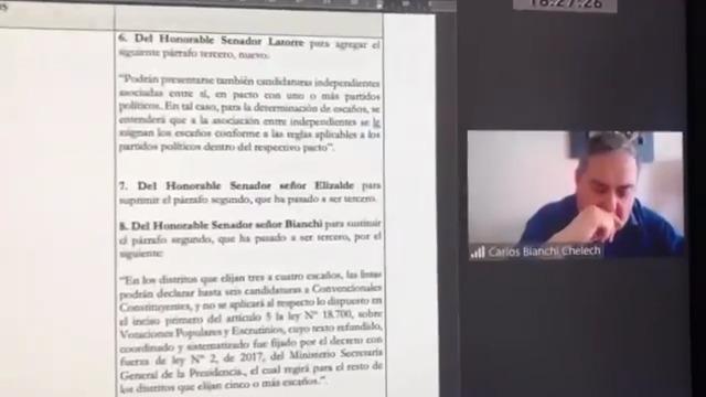 Frente a esto, Carlos Bianchi pidió disculpas por sus dichos. Foto: Senado