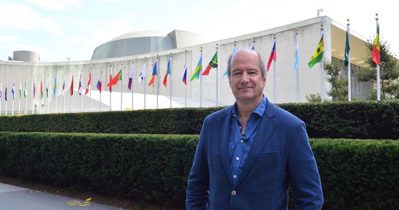 Charles Kimber, gerente corporativo de Personas y Sustentabilidad de Arauco en la Cumbre de las Naciones Unidas por el Clima 2019