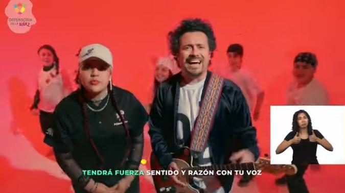 """Defensoría de la Niñez retira video que provocó polémica por frase sobre """"saltar los torniquetes"""""""