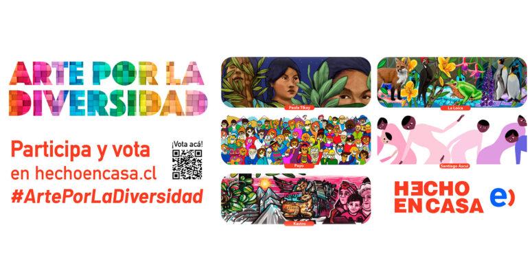 Hecho en Casa: Invitan a votar por el mural que se pintará en torno a la Torre Entel