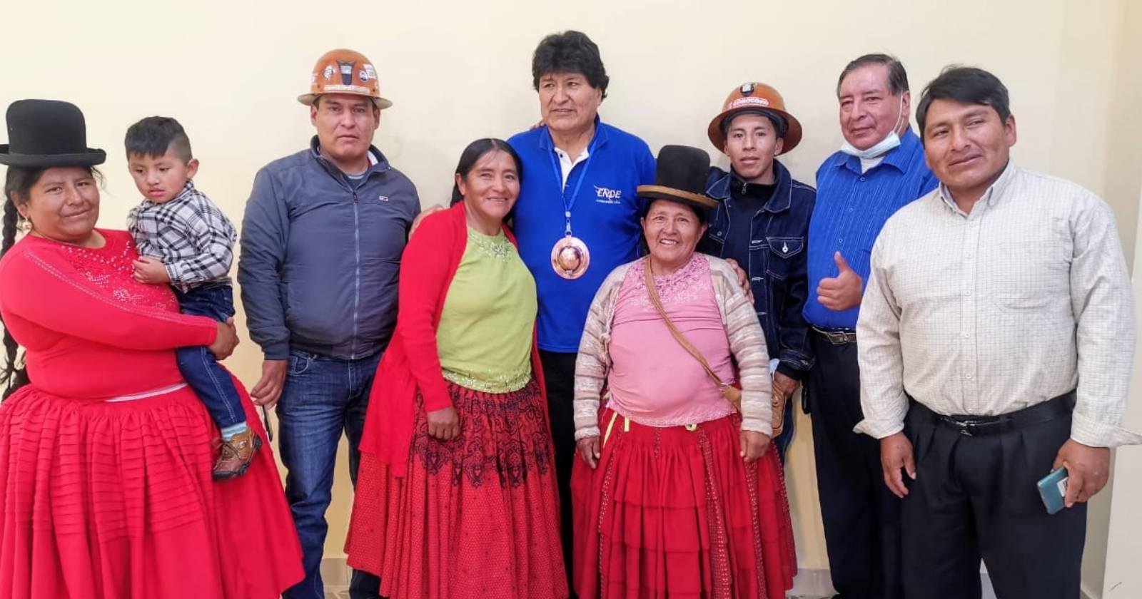 """""""Evo Morales asume presidencia del MAS en Bolivia"""""""