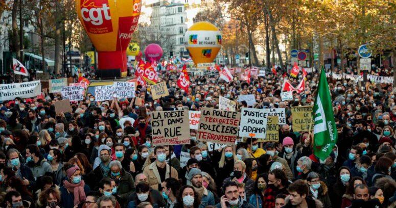 La ley que criminaliza la publicación de imágenes de policías y que desata masivas protestas en Francia