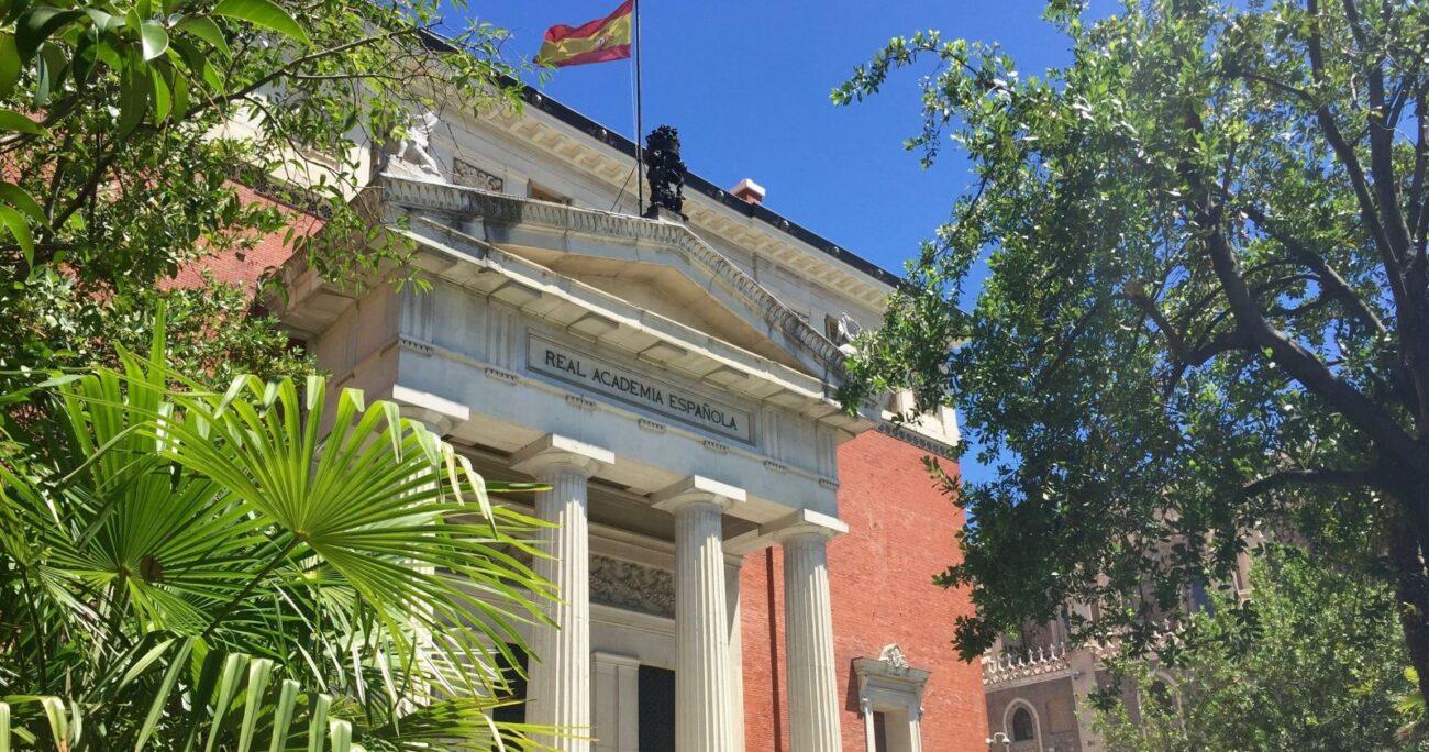 La fachada de la sede de la RAE. (Wikimedia Commons/Real Academia Española)