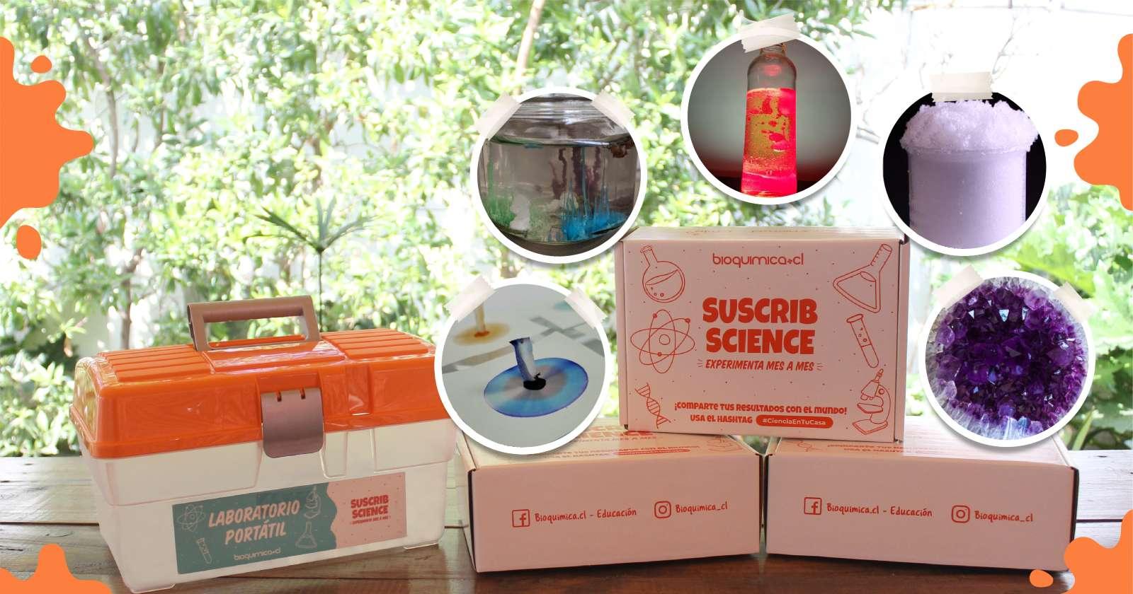 Los kits de experimentos para crear pequeños científicos en casa