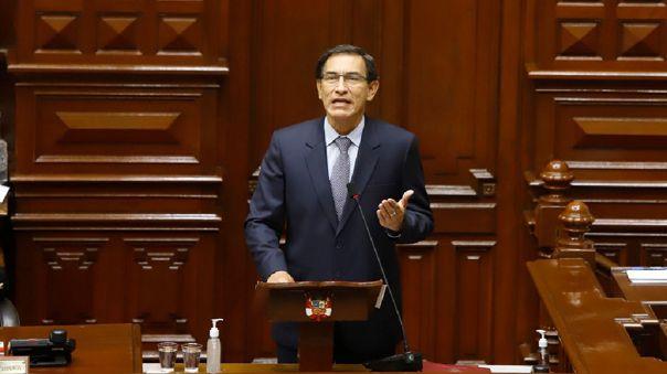 Congreso de Perú aprueba destitución del presidente Martín Vizcarra