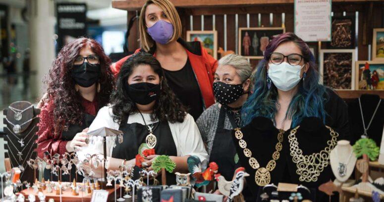 Emprendedores participan en séptima versión de la Feria Comercio Justo