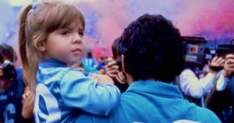 """""""¡Ya te extraño pa!"""": la emotiva carta de Dalma, la hija de Diego Armando Maradona"""