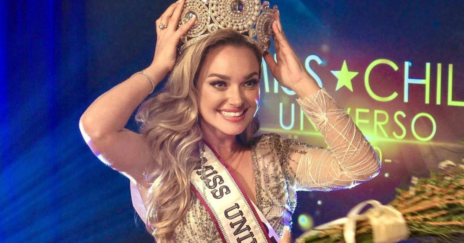 Daniela Nicolás fue elegida Miss Universo Chile 2020 y representará a nuestro país en el certamen internacional