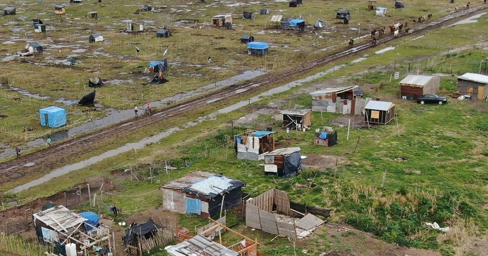 Aumento en tomas de terrenos deja en evidencia la crisis habitacional en Argentina