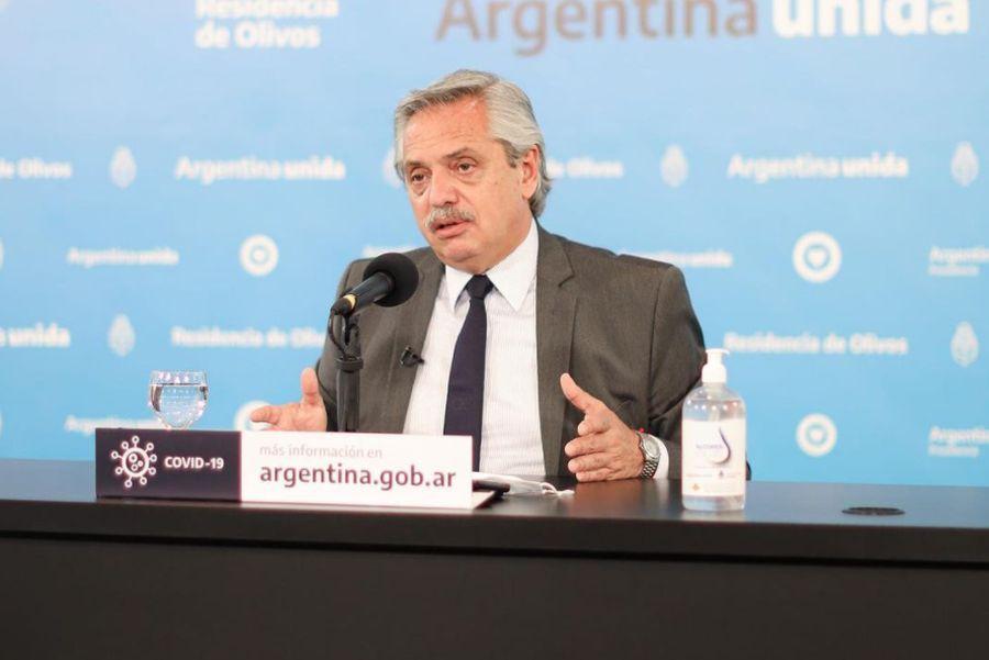 Alberto Fernández aún no se ha reunido con su par chileno.