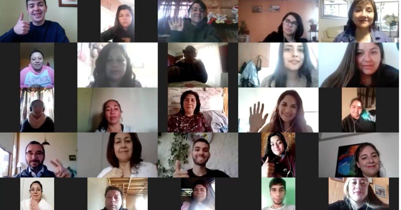 Participantes en el curso