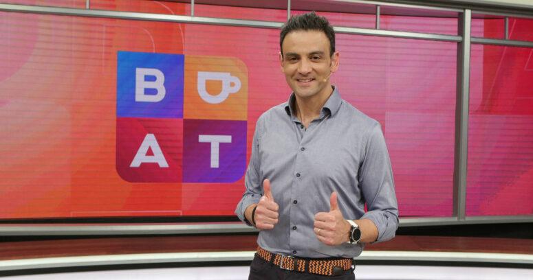 """Gonzalo Ramírez, animador del matinal de TVN: """"Acá aprendí todo lo que sé de televisión"""""""
