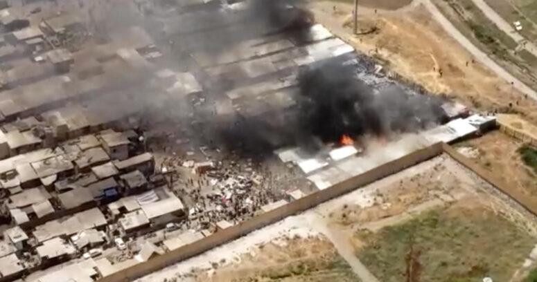 Incendio en campamento Violeta Parra afectó a más de 60 viviendas