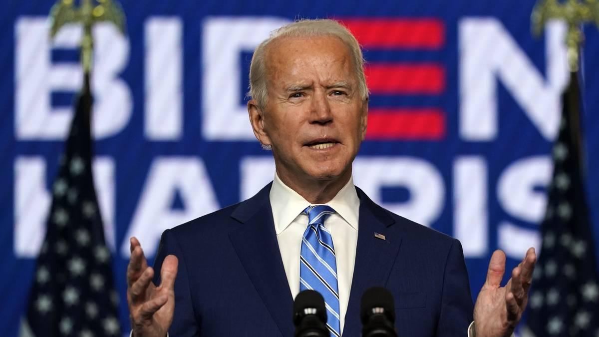 """""""Joe Biden por acusaciones infundadas de Donald Trump: """"Nadie nos quitará la democracia"""