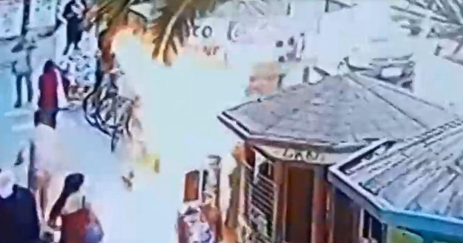 """""""Conflicto por una deuda habría motivado ataque incendiario a kiosko en Melipilla"""""""