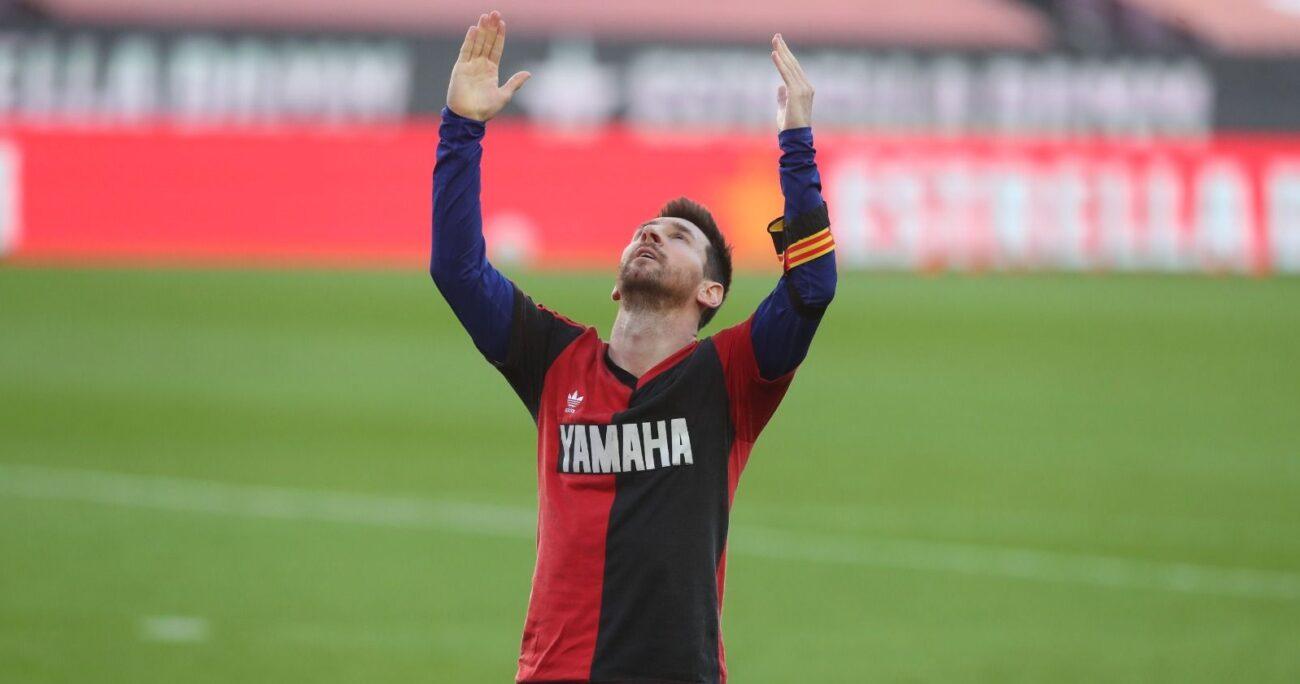 Messi con la camiseta de Newell's Old Boys. (Foto: FC Barcelona)
