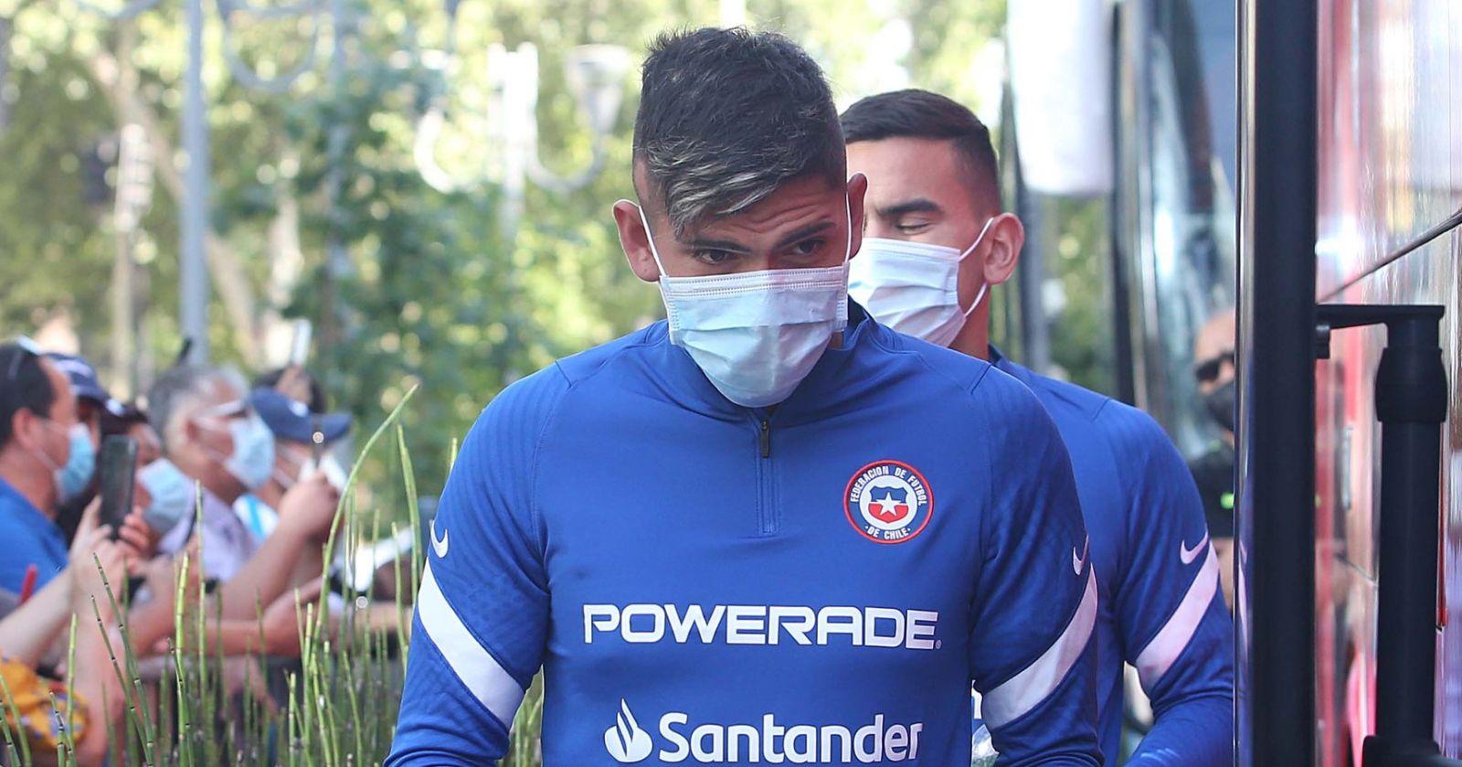 """Carlos Palacios: """"Me siento capacitado para jugar ante Perú"""""""