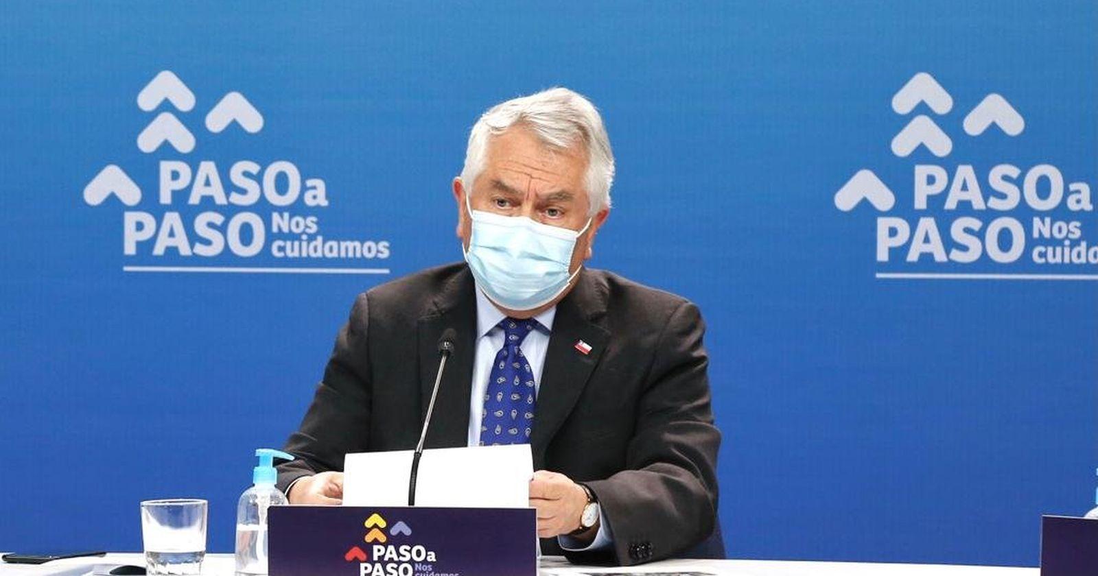 """""""Ministro Paris pidió a gremios de la salud que"""