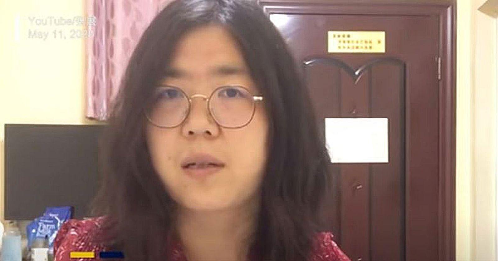 Periodista china arriesga cinco años de cárcel por informar sobre el brote de coronavirus en Wuhan