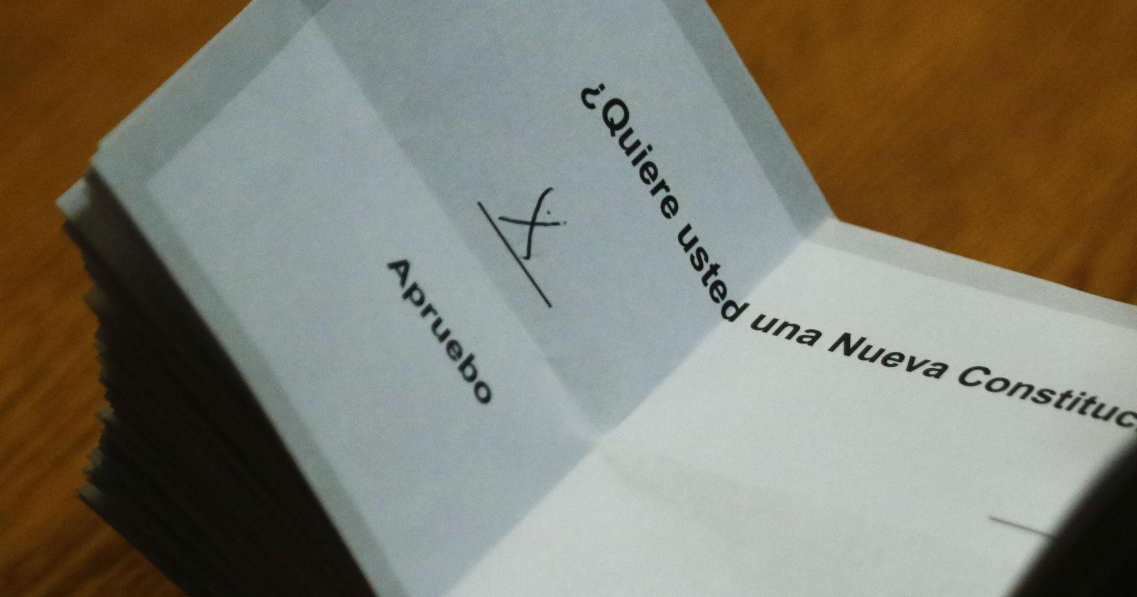 Plebiscito 2020: chilenos apostaron dinero por el apruebo o el rechazo