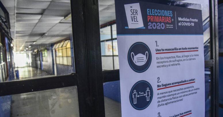 Primer balance del Servel en primarias: se han constituido el 55% de las mesas