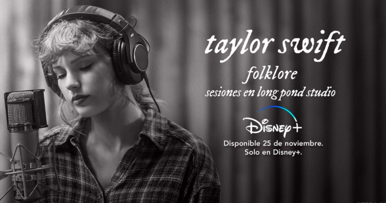 Folklore, sesiones en Long Pond Studios: así será el especial de Taylor Swift en Disney+