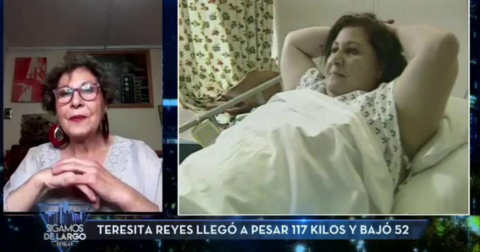 """Teresita Reyes recordó su lucha para bajar de peso: """"Tú te sigues sintiendo igual de gorda"""""""