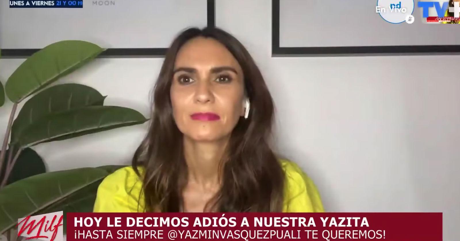 """""""Ya no me sentía cómoda"""": la emotiva despedida de Yazmín Vásquez de Milf"""
