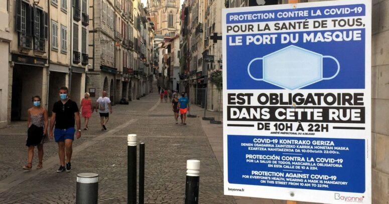 Francia impondrá toque de queda en Año Nuevo para frenar contagios con coronavirus