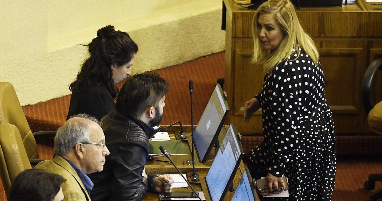 El largo historial de conflictos entre ambos parlamentarios sumó un nuevo capítulo. Foto: Agencia UNO