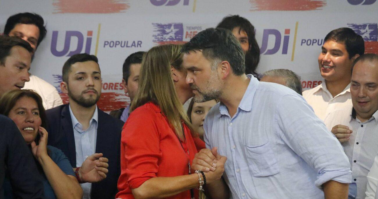 Javier Macaya, nuevo presidente de la UDI. Foto: Agencia Uno.