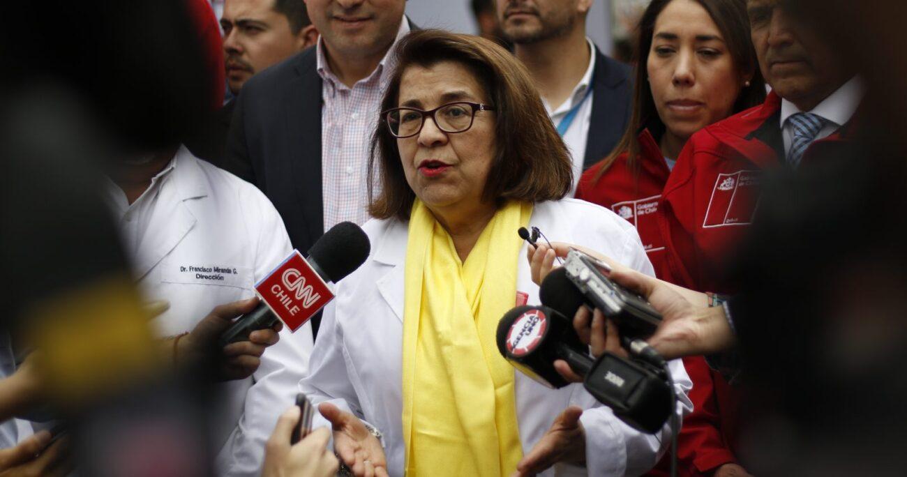 Rosa Oyarce, ex seremi de Salud Metropolitana - Foto: Agencia Uno