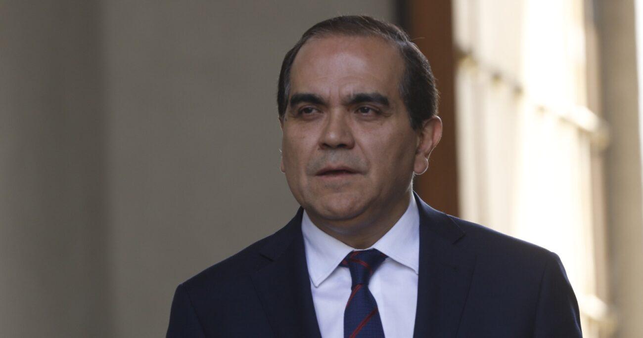 Carlos Maldonado durante reunión con otros timoneles de la oposición. Fuente: Agencia Uno.