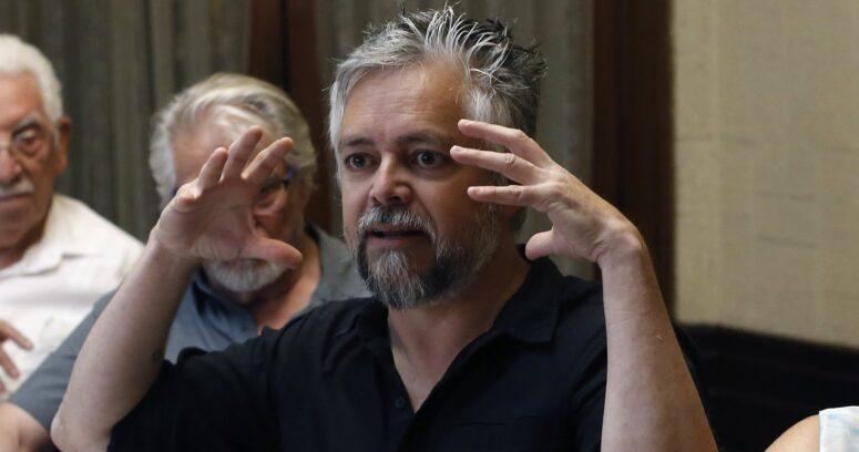 """""""No pueden llevar de candidatos a los dinosaurios"""": Baradit explica cómo llegó a postularse para la Convención por el PS"""