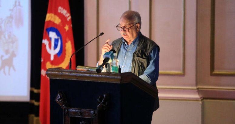 """Guillermo Teillier: """"Estamos decididos a llevar la candidatura de Jadue hasta el final"""""""