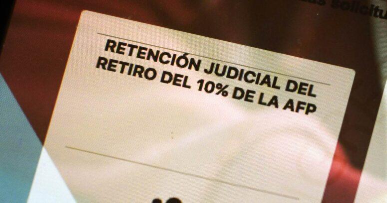 Cómo pedir en el Poder Judicial la retención del segundo retiro por deuda de pensión alimenticia