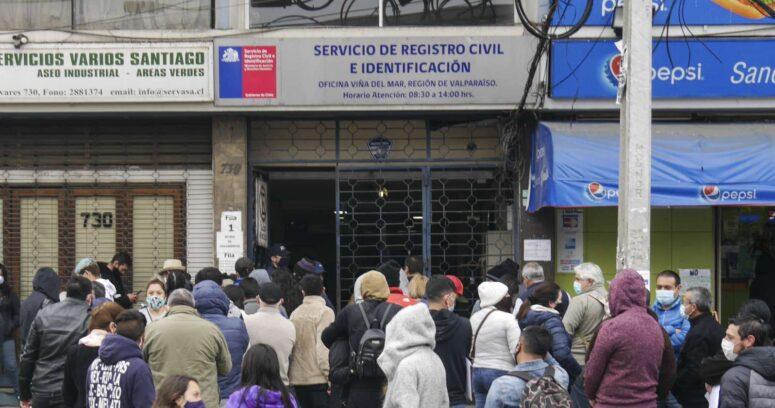 Registro Civil realizará jornada especial de entrega de cédulas de identidad
