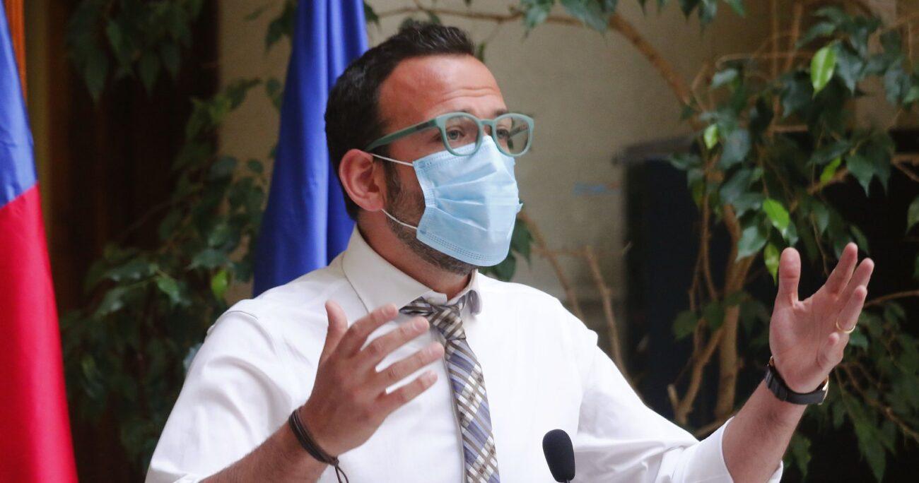 Diputado Pablo Vidal en el Congreso. Fuente: Agencia Uno.