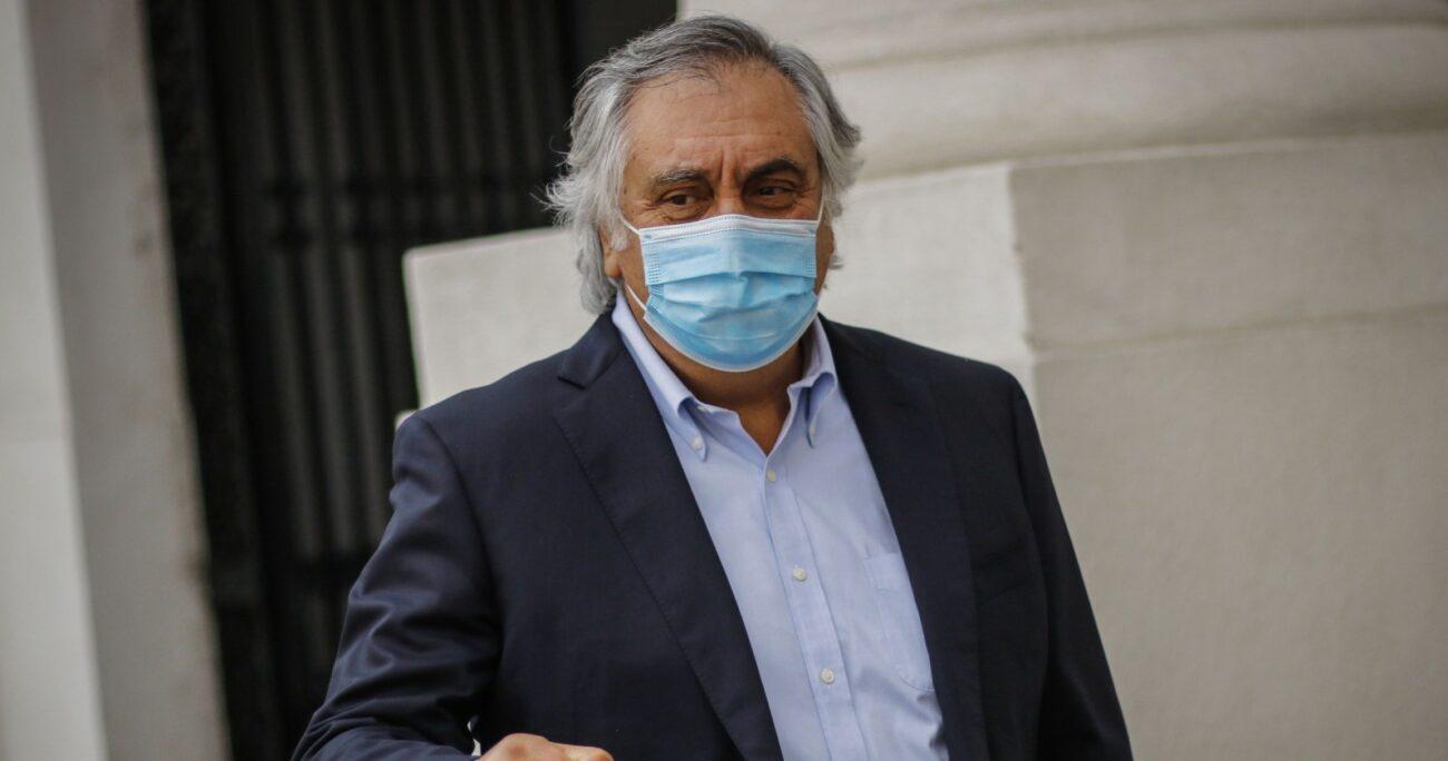 Quedó desechada la idea de proclamar al ex ministro Mario Desbordes este 5 de enero. Foto: Agencia UNO