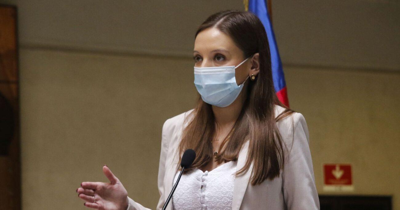 La diputada de RN, Camila Flores. Foto: Agencia Uno