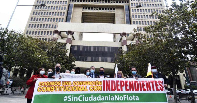 Plazos y pactos: por qué los independientes todavía tienen difícil ingresar a la constituyente