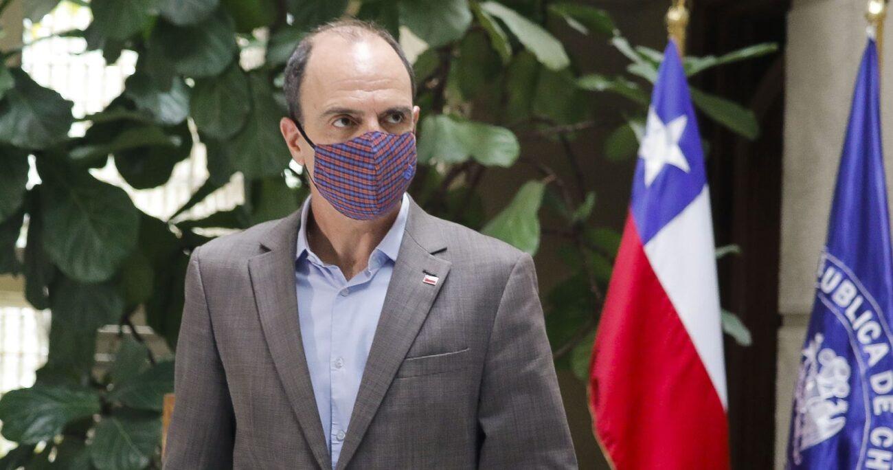 Monckeberg en el Congreso durante tramitación del segundo retiro. Fuente: Agencia Uno.