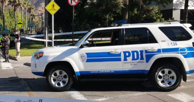 Persecución terminó con una camioneta volcada, dos detenidos y una embarazada lesionada