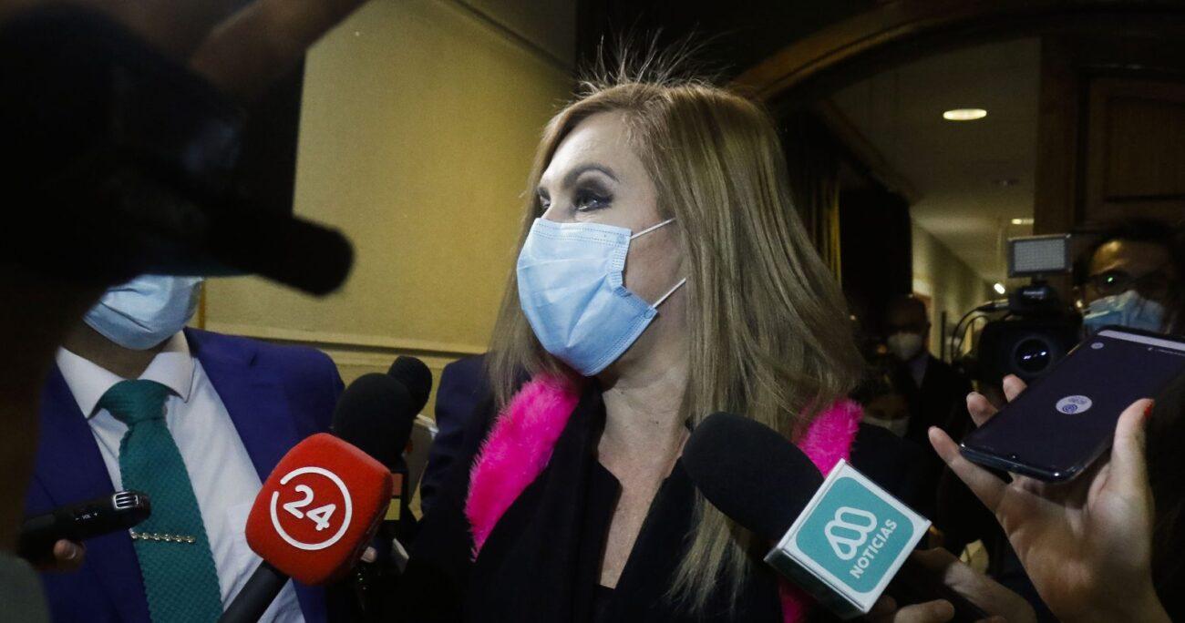 La legisladora defendió la gestión de la mesa dirigida por Diego Paulsen (RN). Foto: Agencia UNO